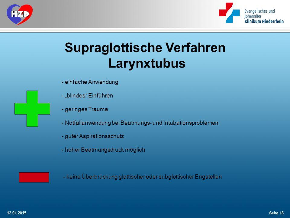 Supraglottische Verfahren