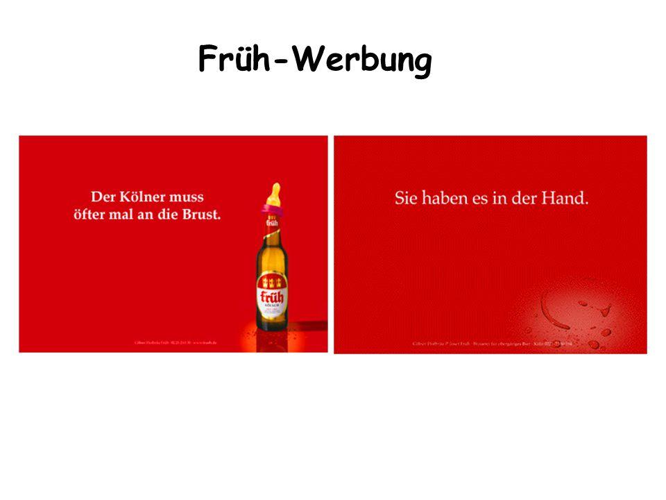 Früh-Werbung