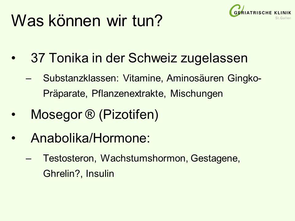 Was können wir tun 37 Tonika in der Schweiz zugelassen