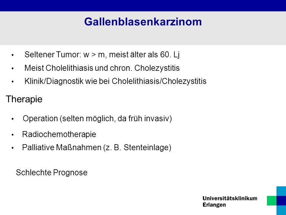 Gallenblasenkarzinom