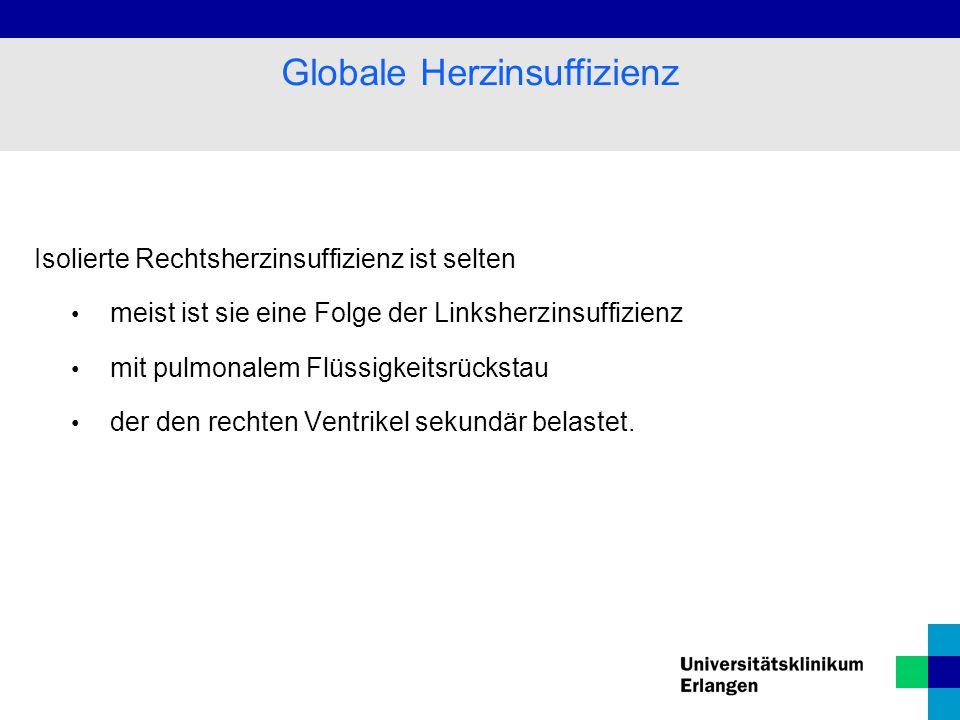 Globale Herzinsuffizienz