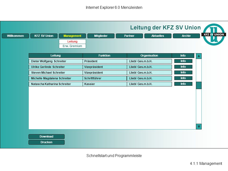 Leitung der KFZ SV Union