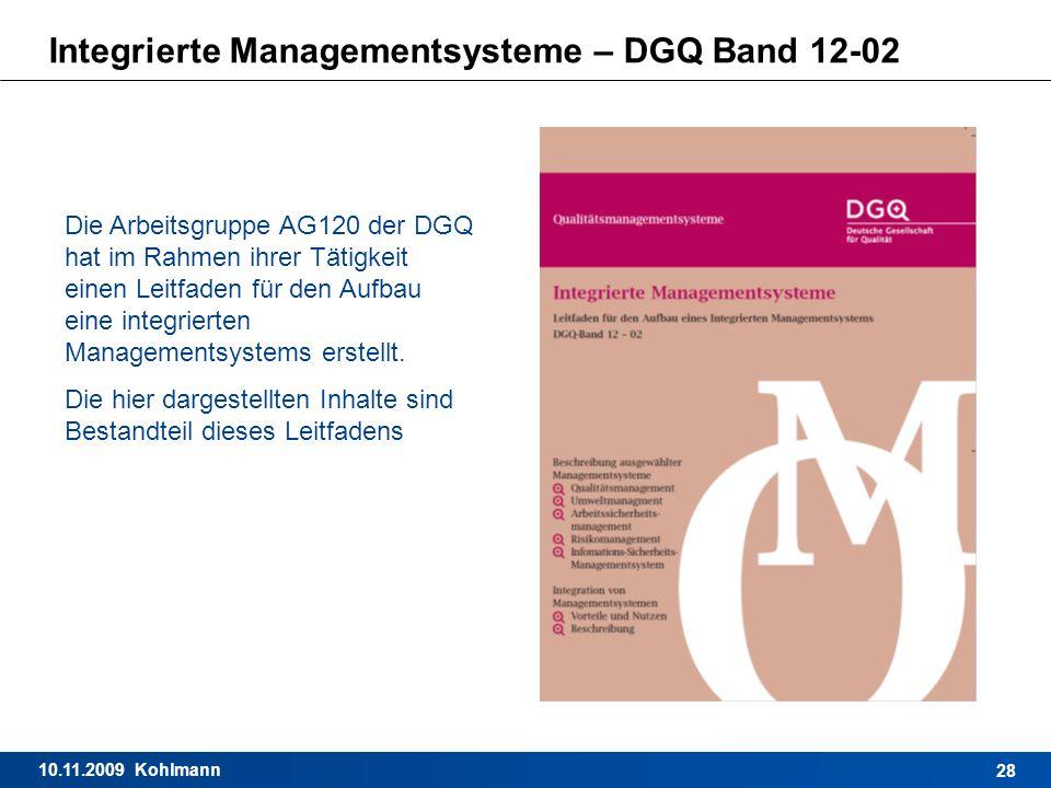 Integrierte Managementsysteme – DGQ Band 12-02