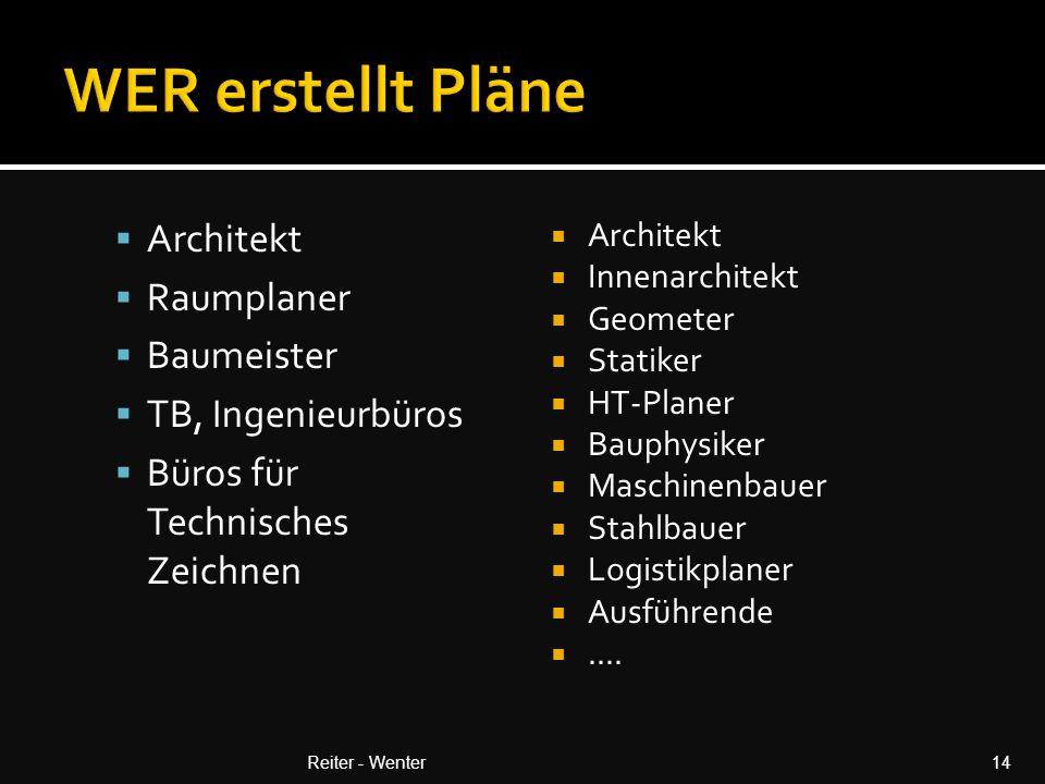 WER erstellt Pläne Architekt Raumplaner Baumeister TB, Ingenieurbüros