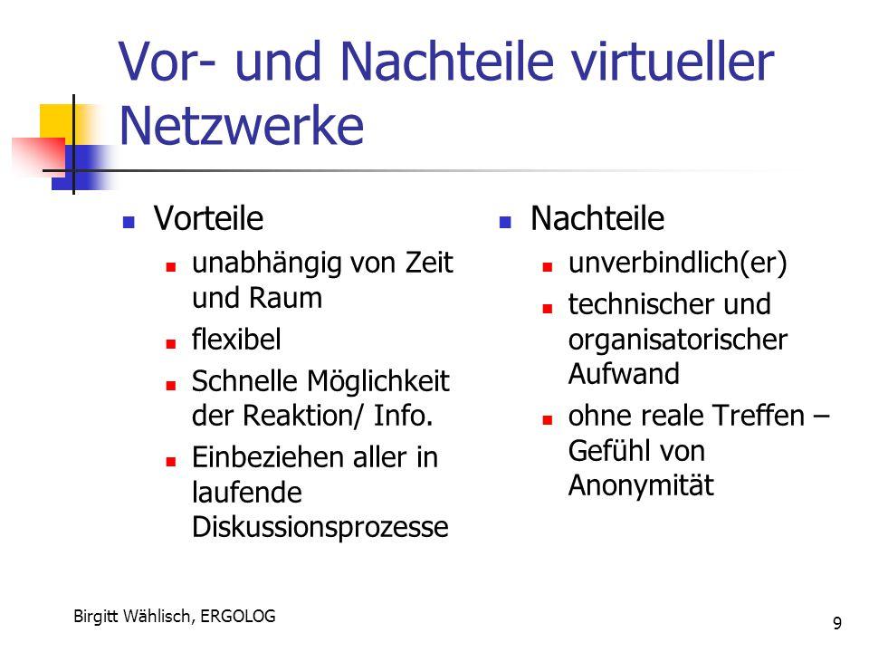Vor- und Nachteile virtueller Netzwerke
