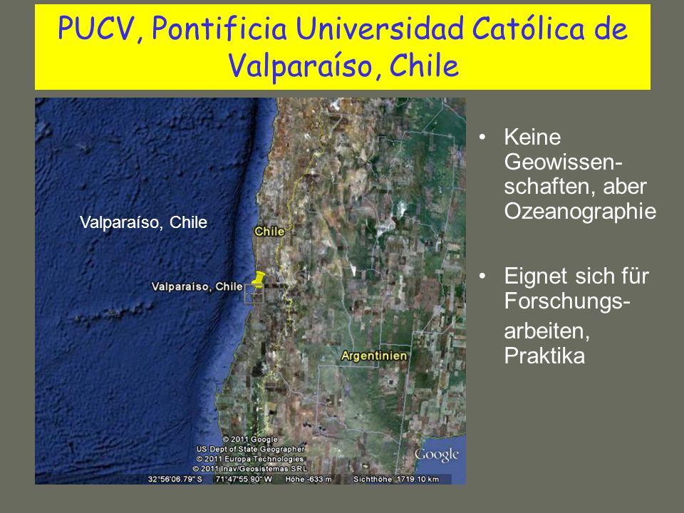 PUCV, Pontificia Universidad Católica de Valparaíso, Chile