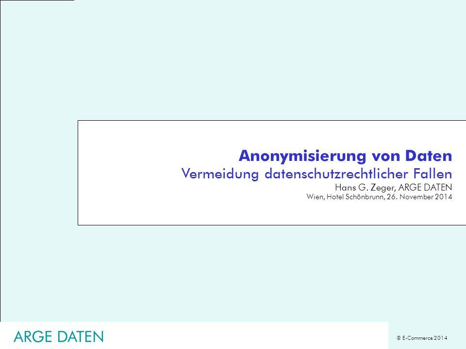 Anonymisierung von Daten Vermeidung datenschutzrechtlicher Fallen
