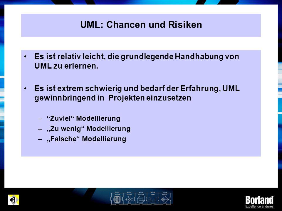 UML: Chancen und Risiken
