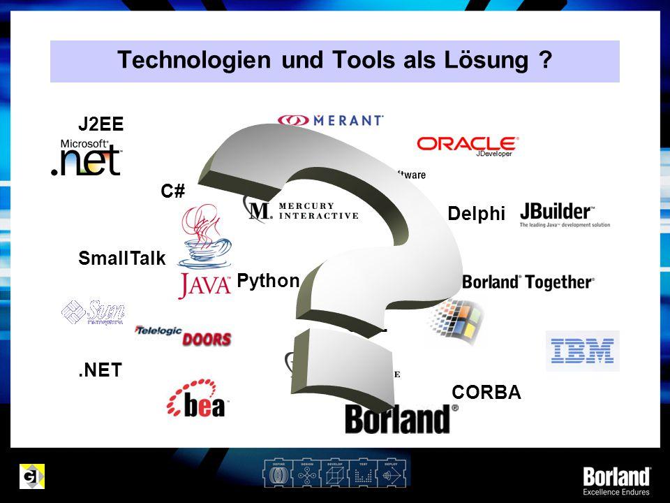 Technologien und Tools als Lösung