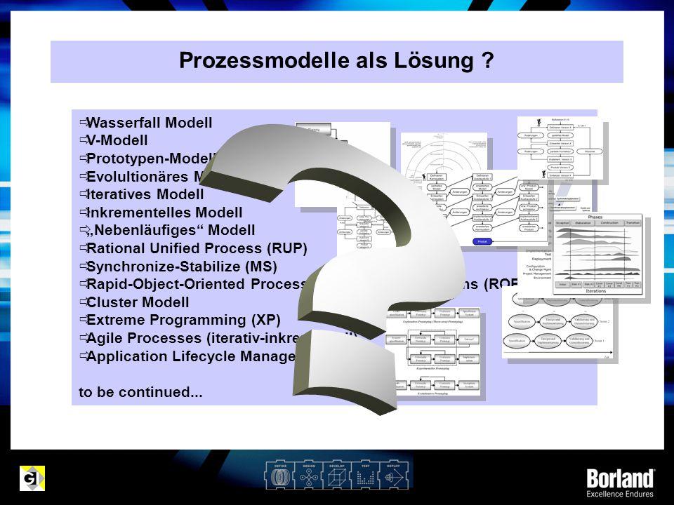 Prozessmodelle als Lösung
