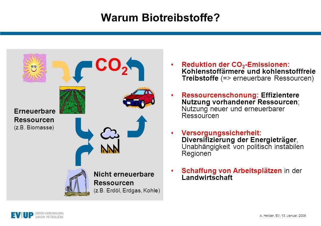 CO2 Warum Biotreibstoffe