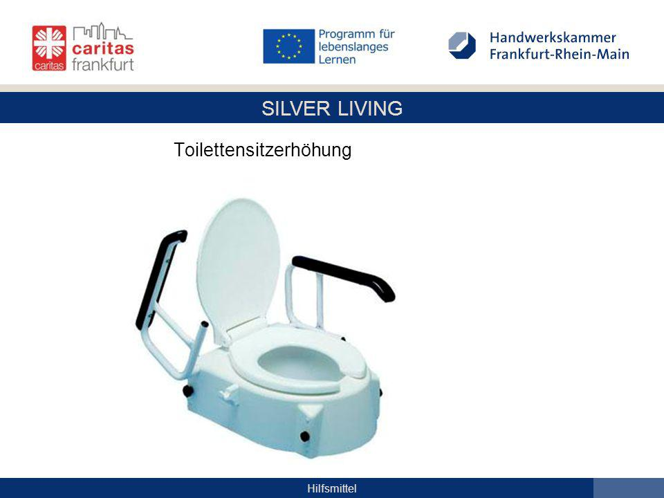 Toilettensitzerhöhung