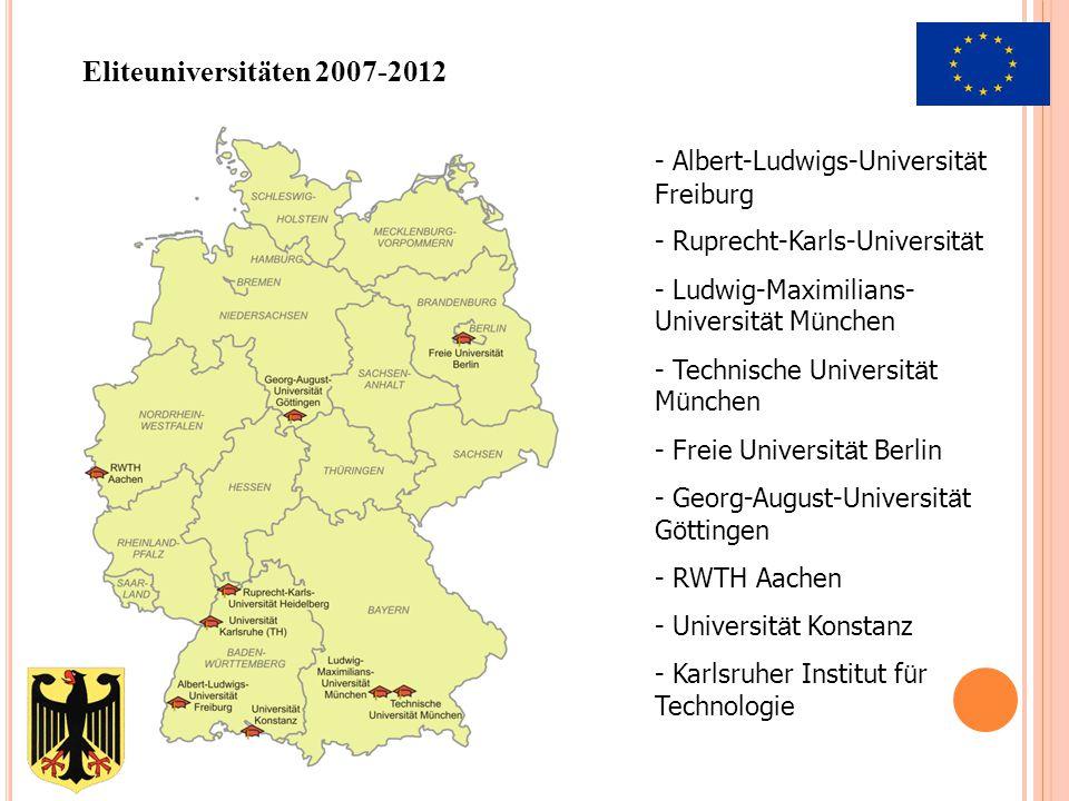 Eliteuniversitäten 2007-2012 Albert-Ludwigs-Universität Freiburg