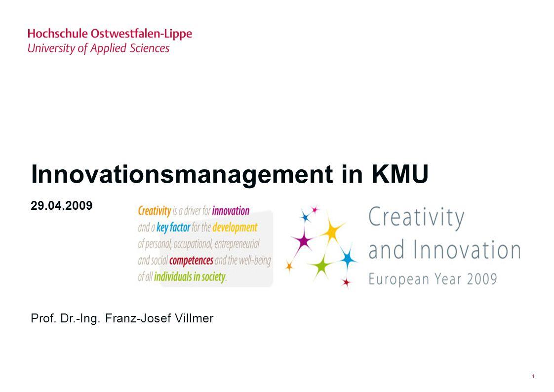 Innovationsmanagement in KMU
