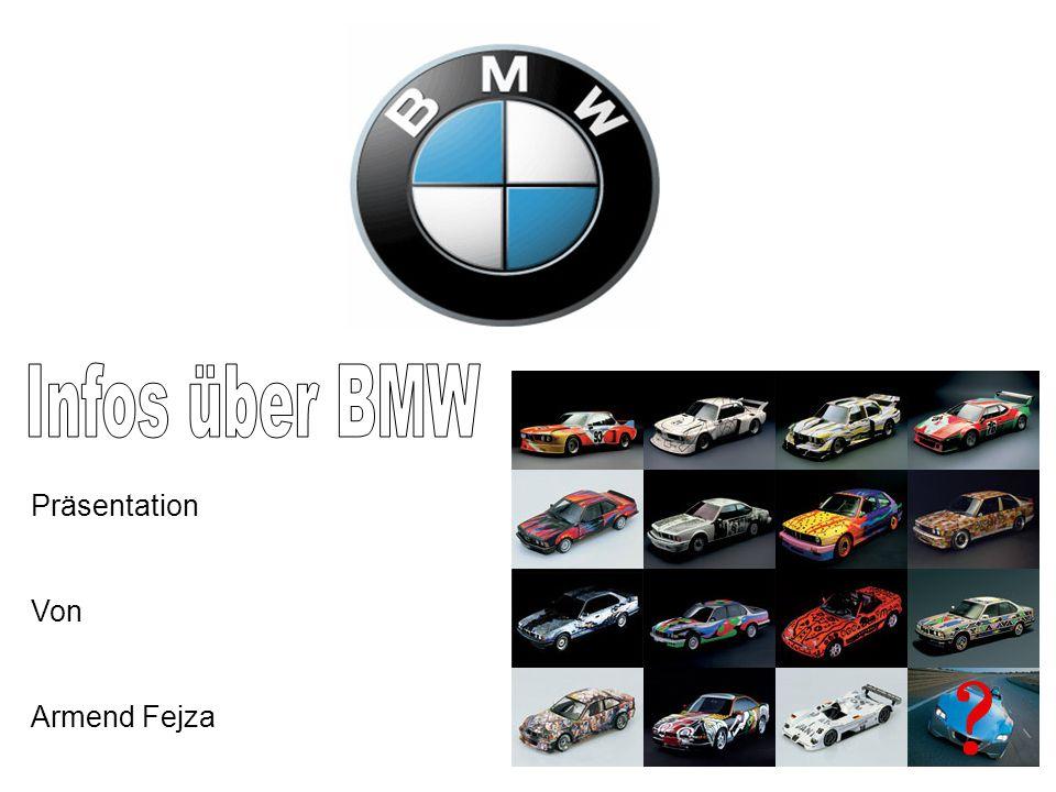 Infos über BMW Präsentation Von Armend Fejza