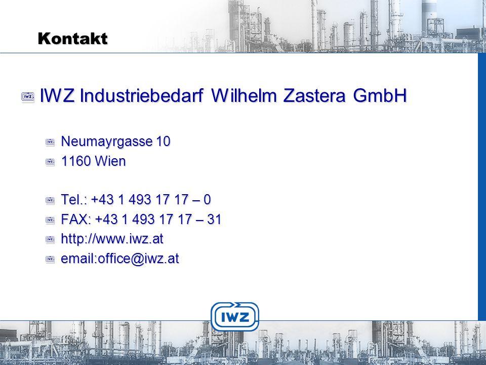 IWZ Industriebedarf Wilhelm Zastera GmbH