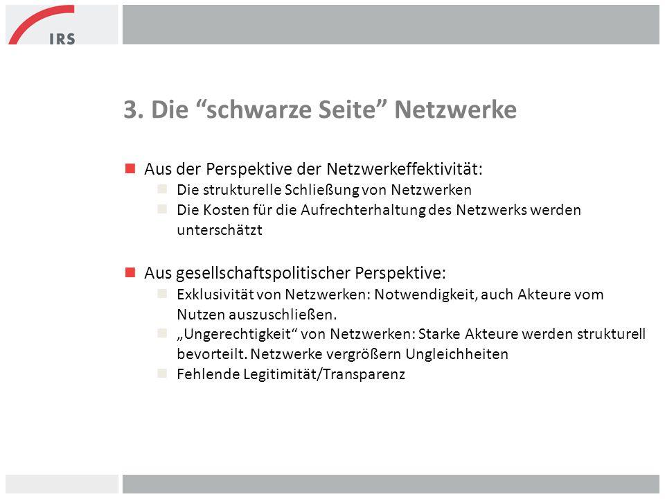 3. Die schwarze Seite Netzwerke