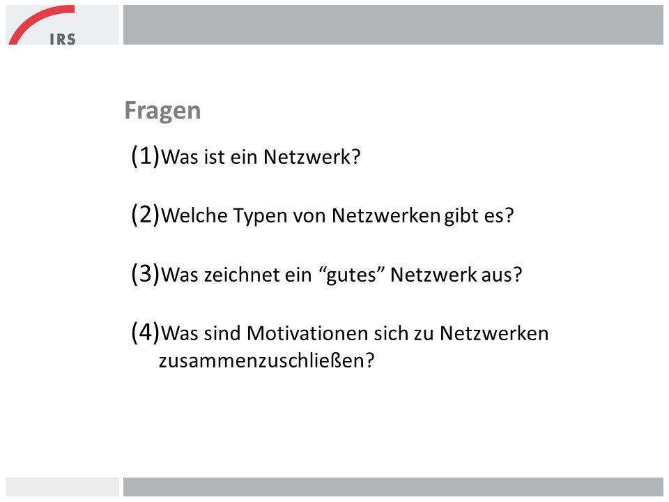 Fragen Was ist ein Netzwerk Welche Typen von Netzwerken gibt es