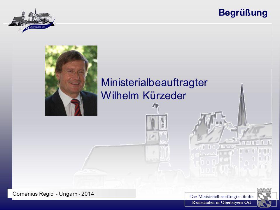 Ministerialbeauftragter Wilhelm Kürzeder