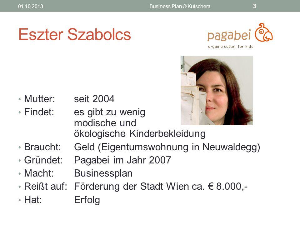 Business Plan © Kutschera