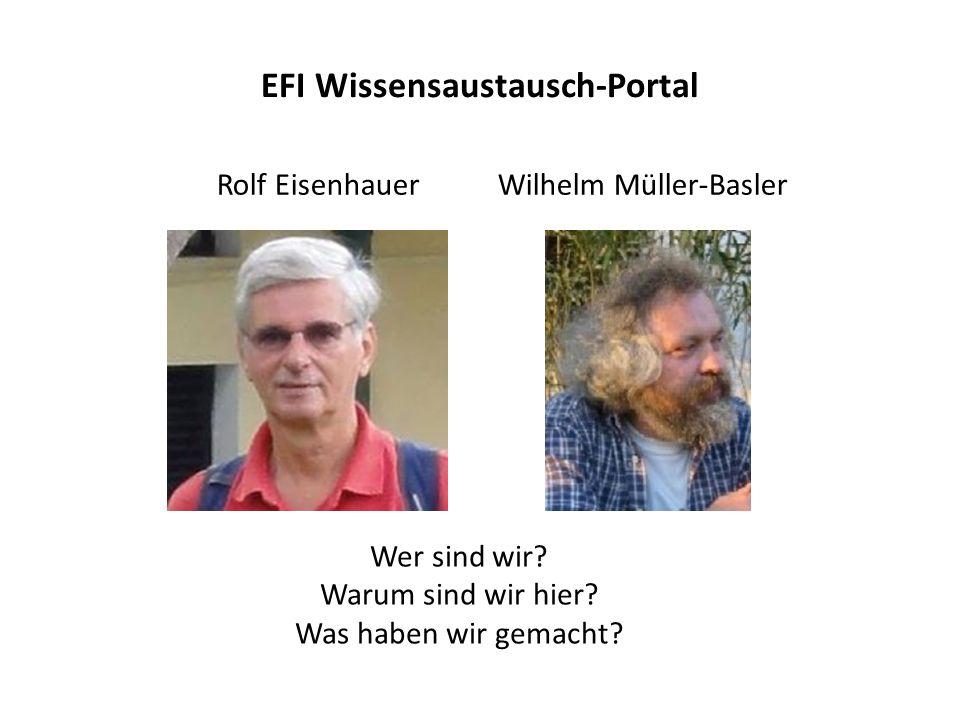EFI Wissensaustausch-Portal