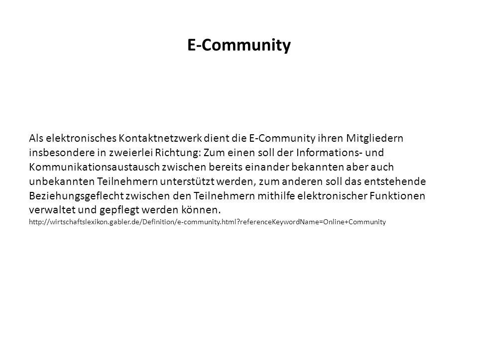 E-Community