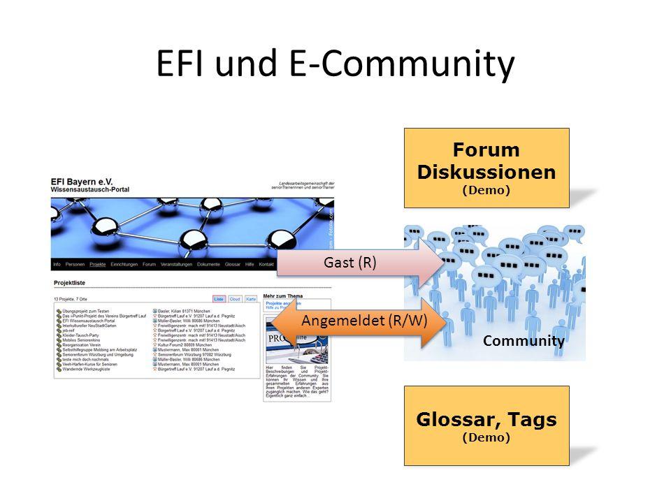 Forum Diskussionen (Demo)
