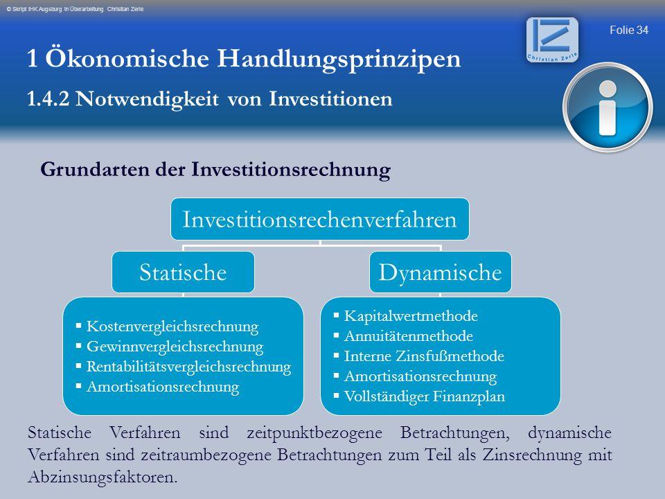 Investitionsrechenverfahren