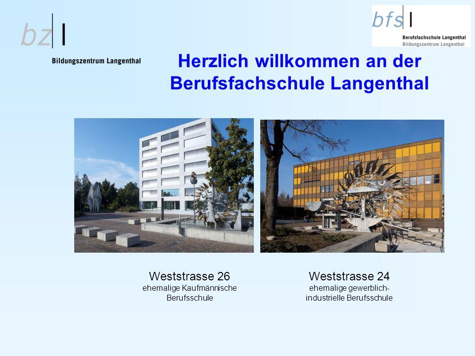 Herzlich willkommen an der Berufsfachschule Langenthal