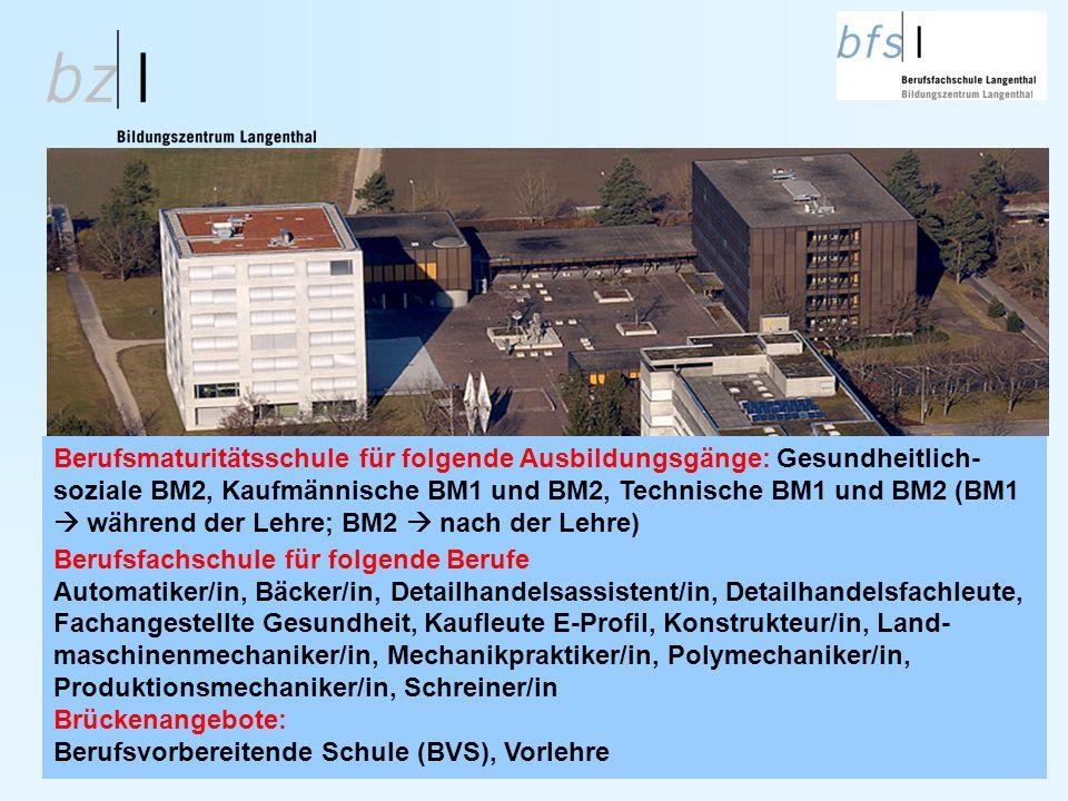 Berufsfachschule Langenthal bfsl