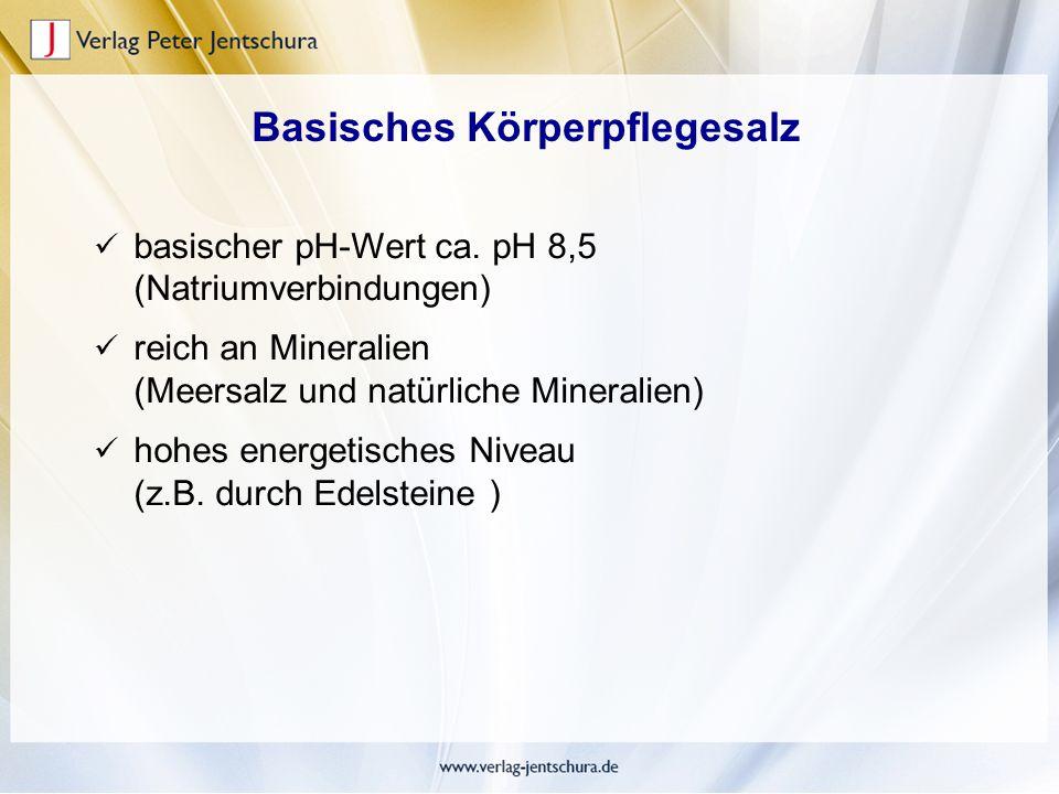 Basisches Körperpflegesalz
