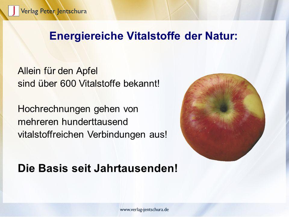 Energiereiche Vitalstoffe der Natur:
