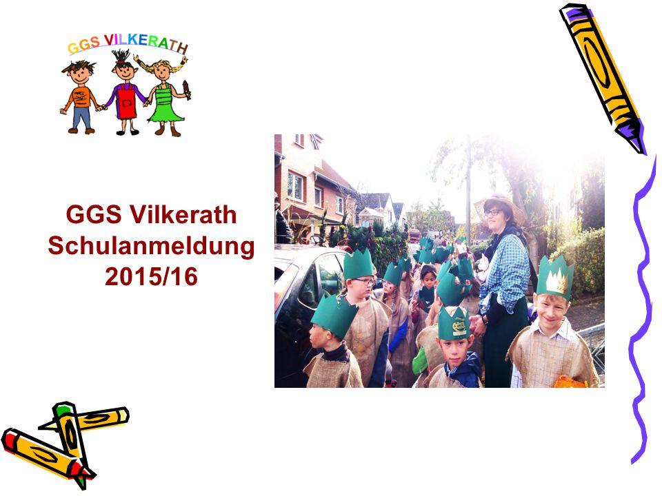GGS Vilkerath Schulanmeldung 2015/16