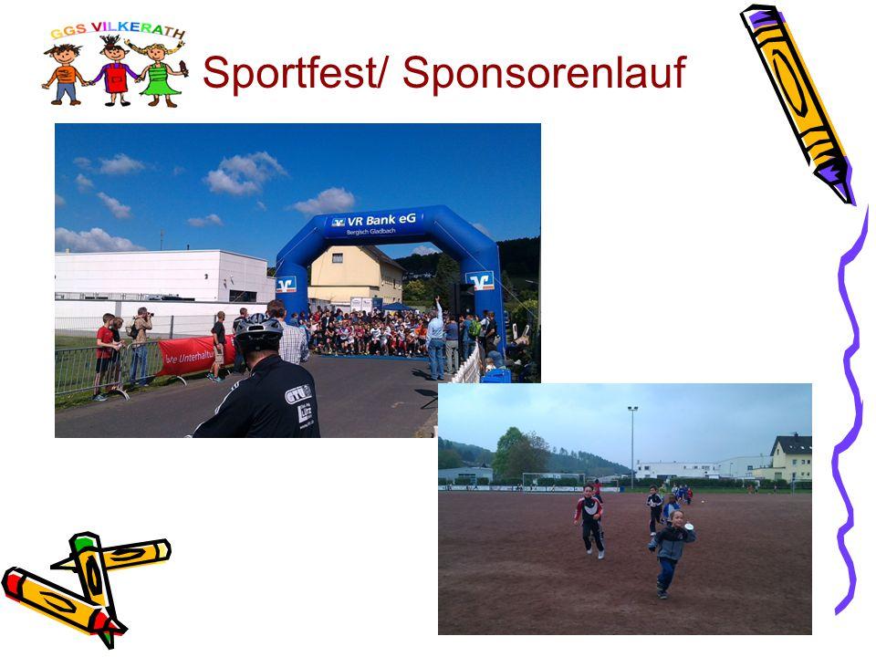 Sportfest/ Sponsorenlauf