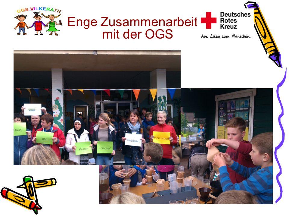 Enge Zusammenarbeit mit der OGS