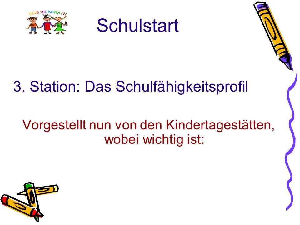 Vorgestellt nun von den Kindertagestätten, wobei wichtig ist: