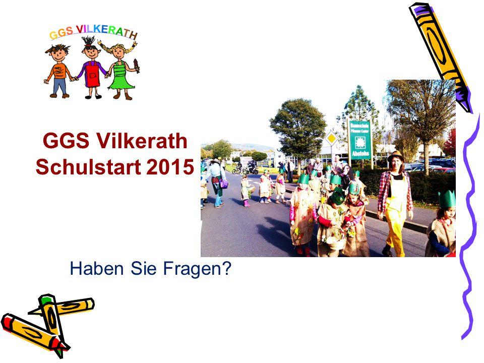 GGS Vilkerath Schulstart 2015