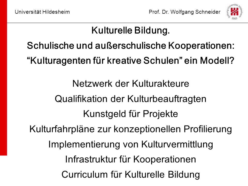 Schulische und außerschulische Kooperationen: