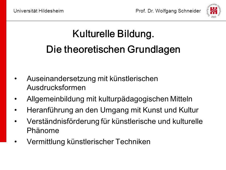 Die theoretischen Grundlagen