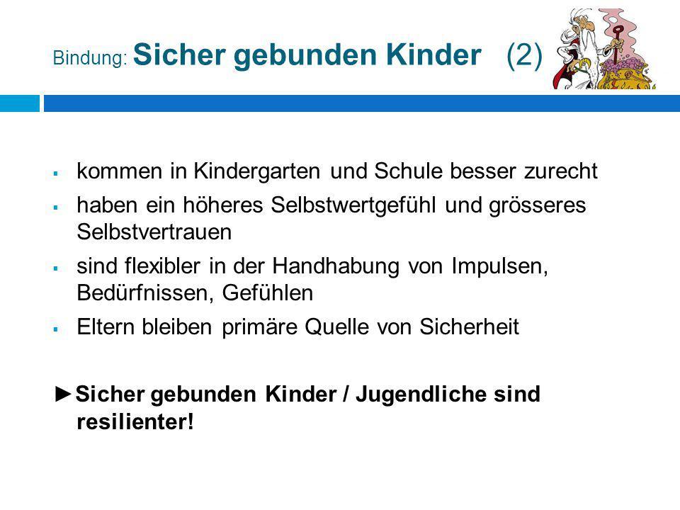 Bindung: Sicher gebunden Kinder (2)