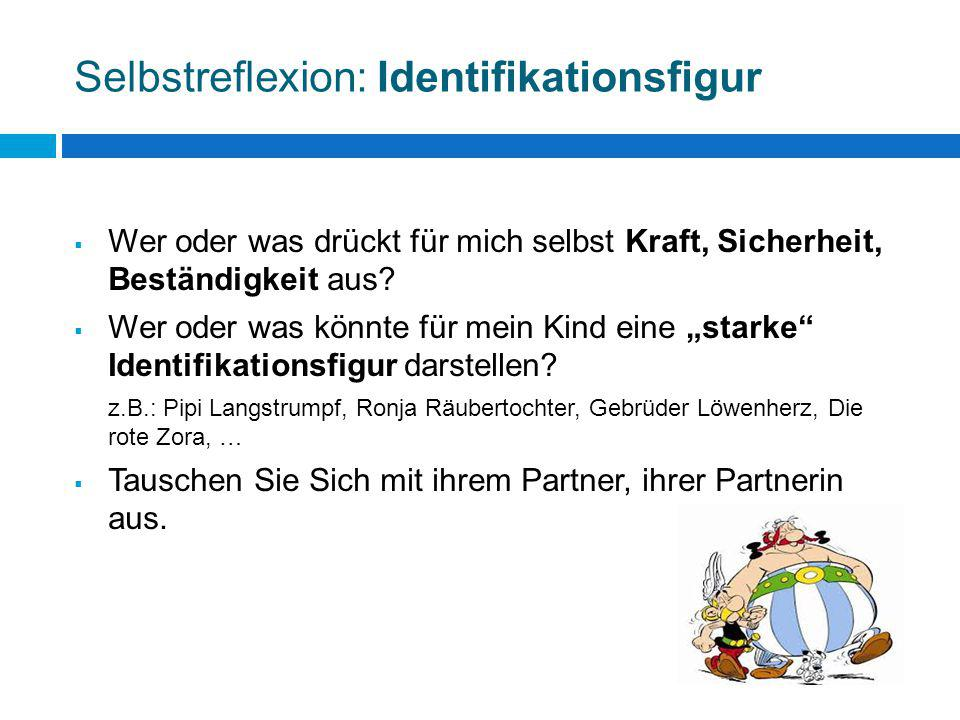 Selbstreflexion: Identifikationsfigur
