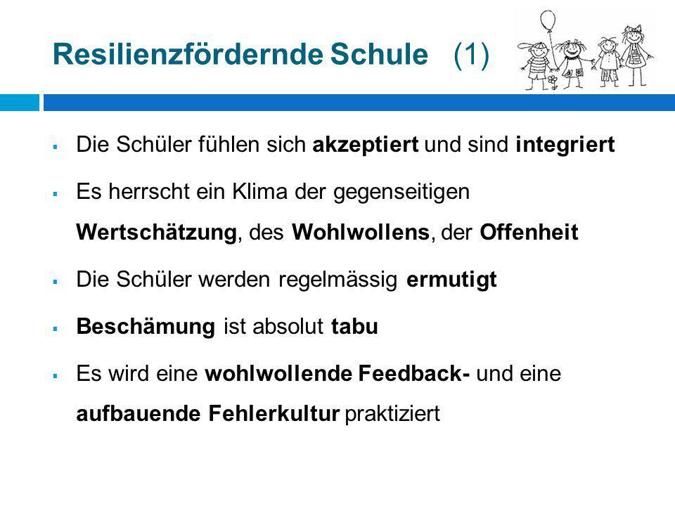 Resilienzfördernde Schule (1)