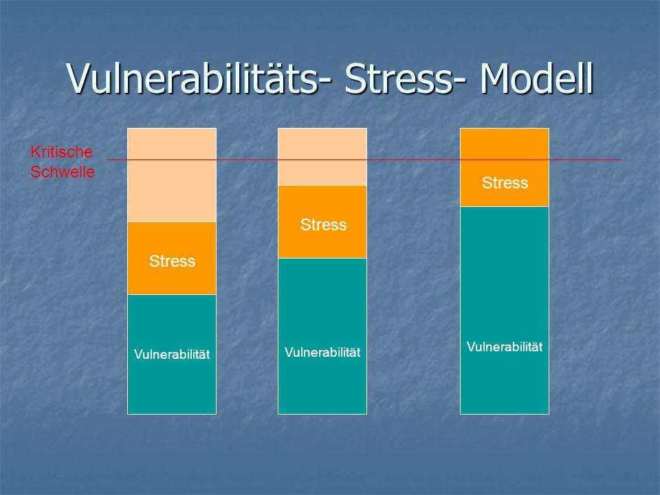 Vulnerabilitäts- Stress- Modell