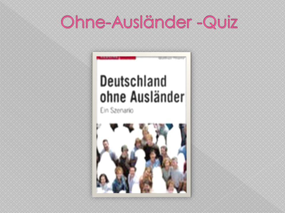 Ohne-Ausländer -Quiz
