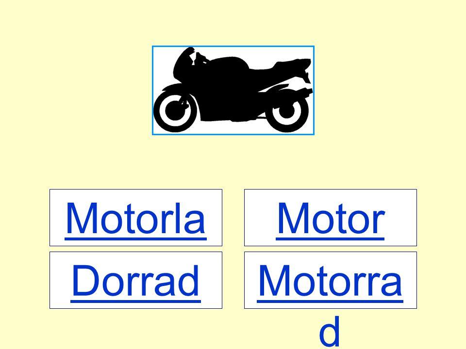 Motorlad Motor Dorrad Motorrad