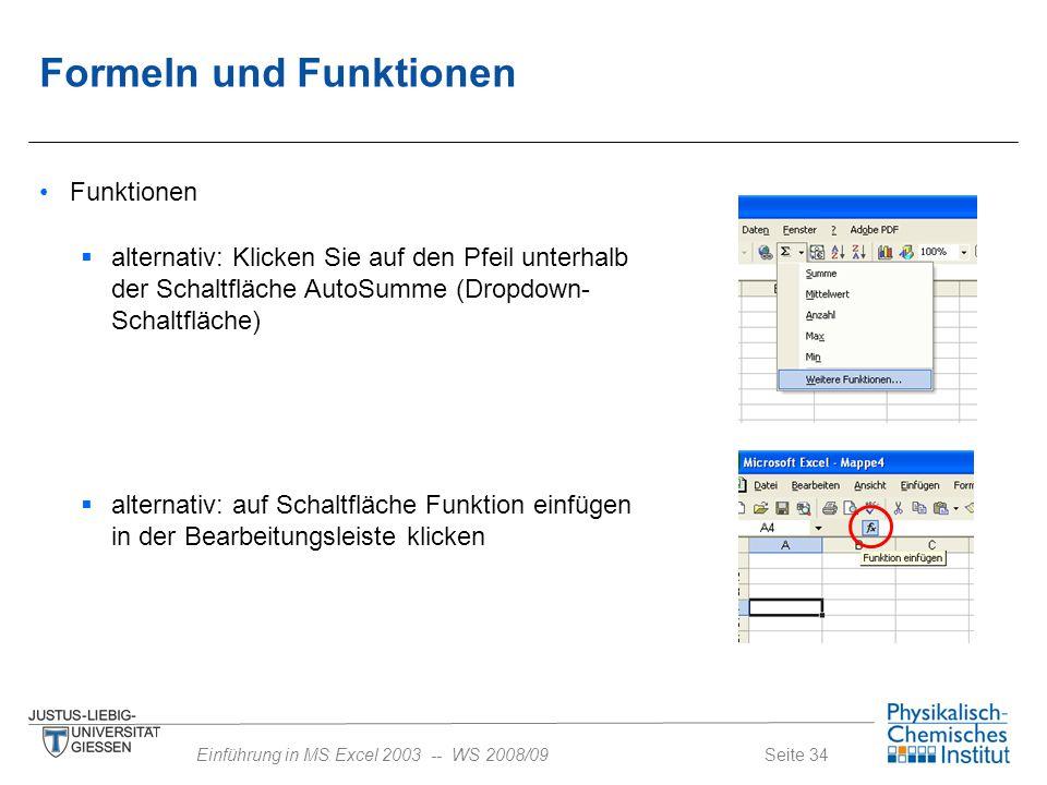 Formeln Microsoft Excel Arbeitsmappe Daten Ebook Download Image ...