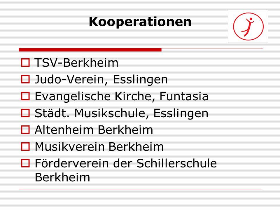 Kooperationen TSV-Berkheim Judo-Verein, Esslingen