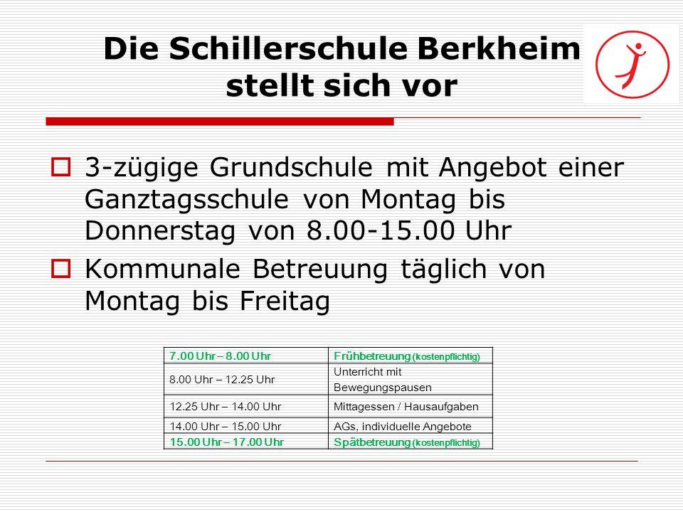 Die Schillerschule Berkheim stellt sich vor