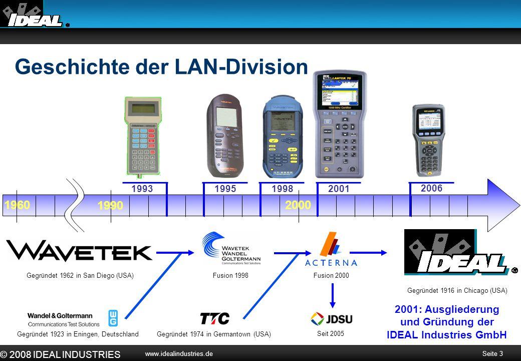 2001: Ausgliederung und Gründung der IDEAL Industries GmbH