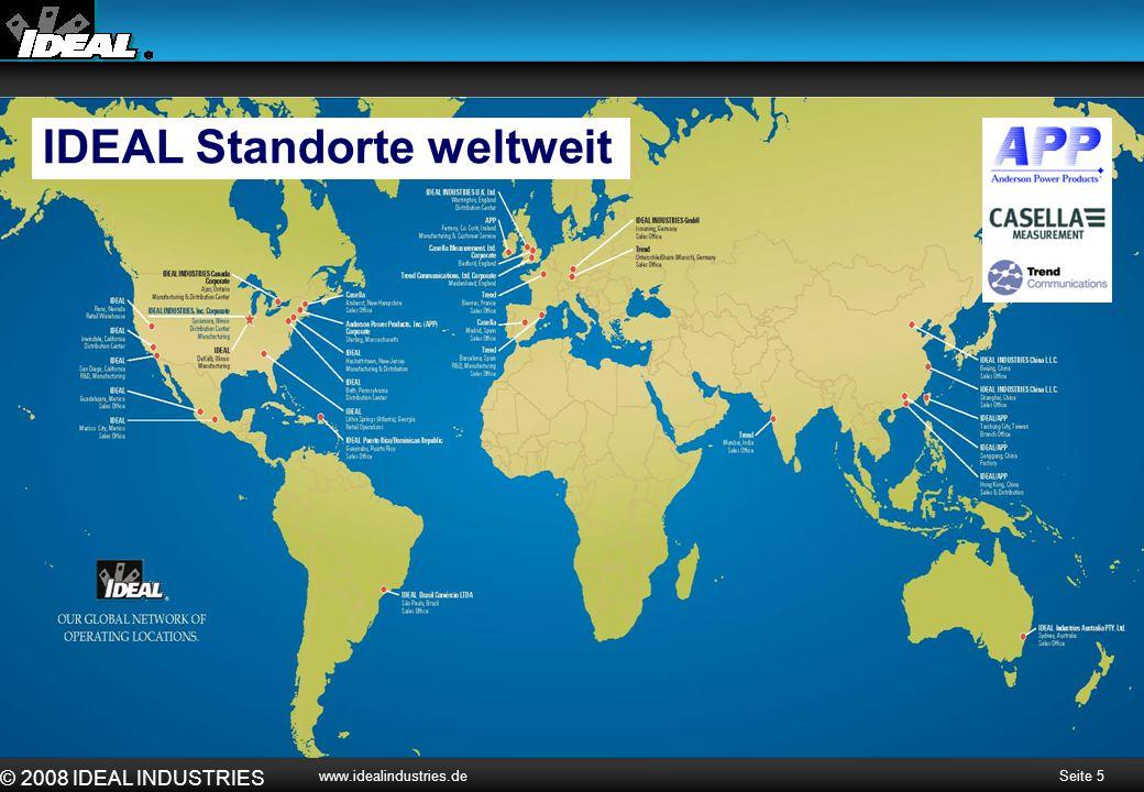 IDEAL Standorte weltweit